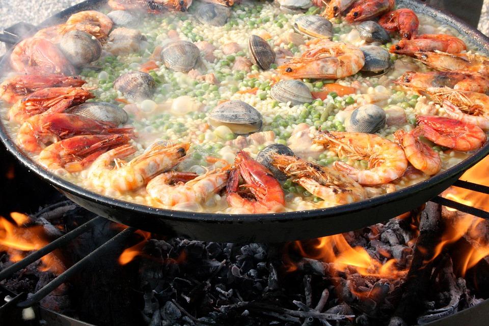 paella- Spanje gezondste land ter wereld